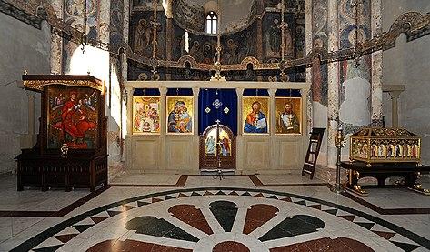 Manastir Manasija, oltarski prostor