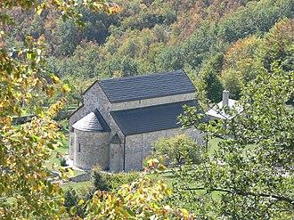 Piva Monastery - Image: Manastir Piva 2