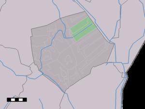 Nieuw-Buinen - Image: Map NL Borger Odoorn Nieuw Buinen