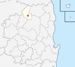 Location of Yeongju