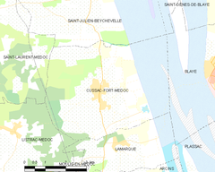 Map commune FR insee code 33146.png