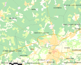 Map commune FR insee code 40279.png