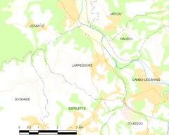 Map commune FR insee code 64317.png