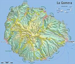 Wandelgids - La Gomera- Küsten- & Bergwanderungen - Rother