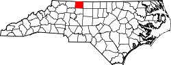 Map of North Carolina highlighting Stokes County.svg