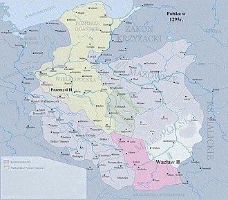 Territorial evolution of Poland - Poland in the times of Przemysł