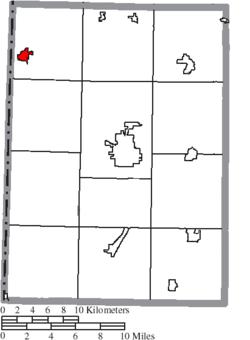 New Paris Ohio Map.New Paris Ohio Wikipedia