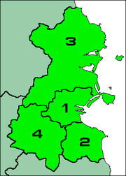 Map of the Dublin Region