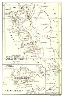 Former set of states on Malay Peninsula
