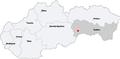 Map slovakia roznava.png