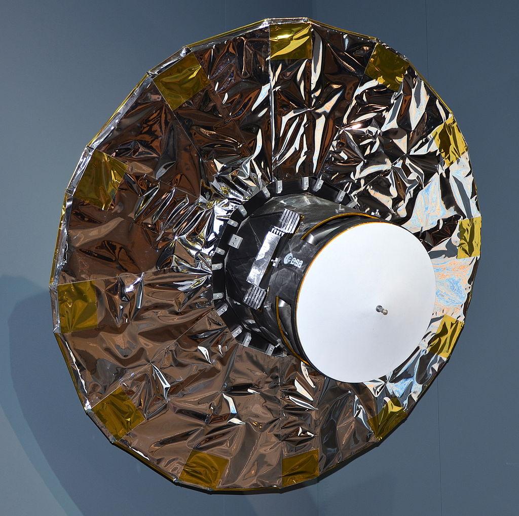 Le satellite Gaïa (maquette)