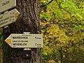 Maršovice, Zálesí, turistický rozcesník.JPG