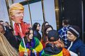 March against Trump, New York City (30648642130).jpg