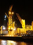 Marcor 2 unloading Fernando by night in Rotterdam pic4.JPG