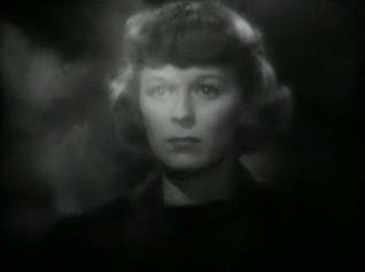 The Mortal Storm - Margaret Sullavan in the trailer
