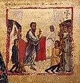 Margaritone d'arezzo, madonna col bambino in trono e scene religiose, 1263-64 ca. 07 resurrezione i drusiana.jpg