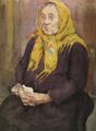 Marian Ruzamski - Góralka (matka M. Marczaka, kustosza).png