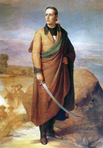 Mariano Matamoros - A painting of Mariano Matamoros.