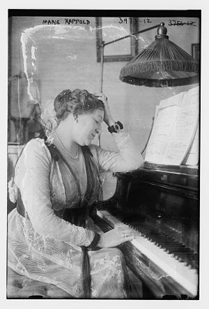 Marie Rappold - Marie Rappold in 1916