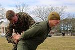 Marines feel the burn during OC spray training 150306-M-RH401-046.jpg