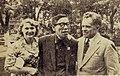 Mark Semenovich Donskoy, Kiyohiko Ushihara and Irina Borisovna Donskaya.jpg
