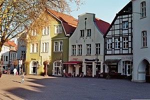 Beckum, Germany - Image: Marktplatz Beckum 01