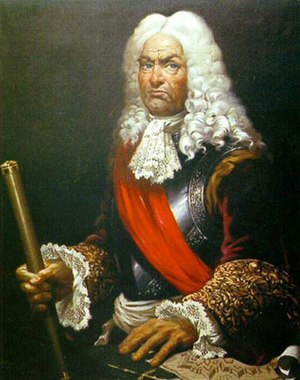 Thirteenth Siege of Gibraltar - The Flemish born engineer Marquis de verboom