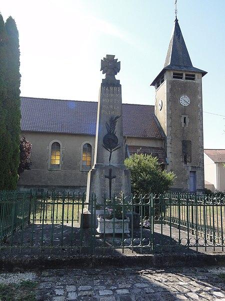 Marre (Meuse) monument aux morts