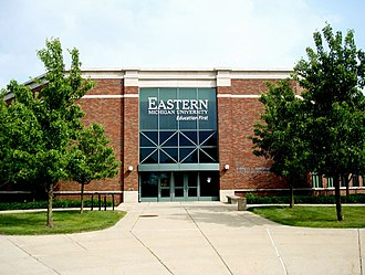 History of Eastern Michigan University - Marshall Hall