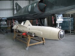 En AS.37 Martel på Yorkshire Air Museum i Elvington.