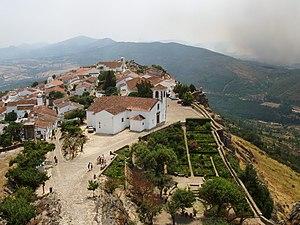 Marvão - Marvão as seen from its castle