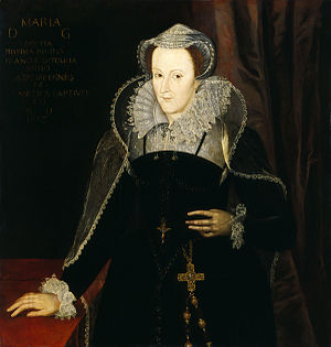 Photo, painting of Mary, Queen of Scots