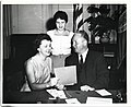 Mary Collins and Mayor John F. Collins and an unidentified woman (13244091914).jpg