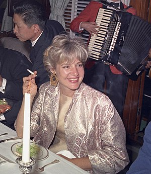 Mary Pinchot Meyer - Mary Pinchot Meyer at JFK's 46th birthday Party on the presidential yacht Sequoia