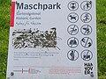 Maschpark in Hannover Prohibition sign.jpg