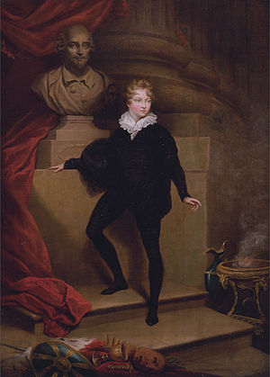 Master Betty - Master Betty as Hamlet (James Northcote, 1805)
