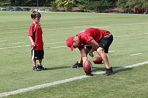 Matt Bryant - Bryant (right) in 2010