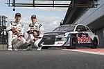 Mattias Ekström, Andreas Bakkerud (Audi S1 EKS RX quattro), Media Day, Silverstone (40215937795).jpg