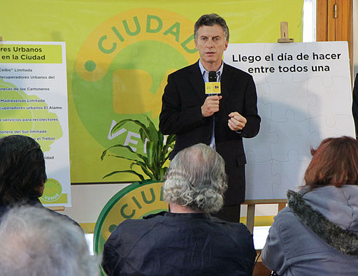 Mauricio Macri encabezó la adjudicación de rutas a cooperativas de recuperadores urbanos (7797603746)