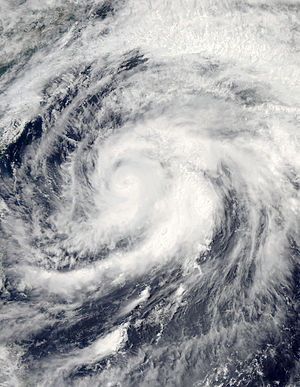 2012 Pacific typhoon season - Image: Mawar Jun 4 2012 0430Z