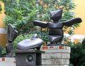 Max Ernst Der Assistent-Der Frosch-Die Schildkroete 1967.jpg