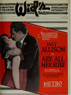 <i>Are All Men Alike?</i> 1920 film