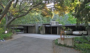 Maynard Buehler House - Buehler House, by Frank Lloyd Wright in Orinda, California.