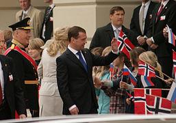 Medvedev harald children.jpg