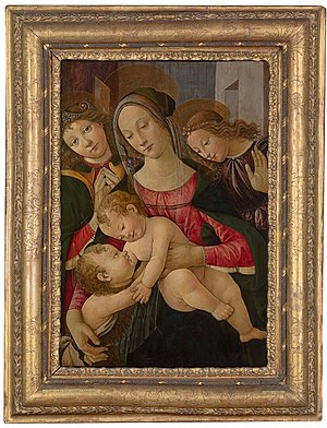 Madonna and Child with Angels and John the Baptist
