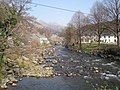 Meeting of Two Rivers at Beddgelert - geograph.org.uk - 463359.jpg