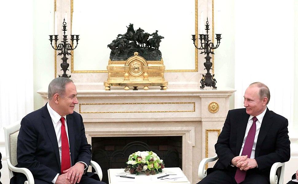 Meeting with Prime Minister of Israel Benjamin Netanyahu 3