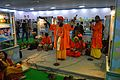 Meghlal Sarkar and Group - Baul Song Performance - West Bengal Pavilion Interior - 39th International Kolkata Book Fair - Milan Mela Complex - Kolkata 2015-01-29 5252.JPG