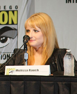 Melissa Rauch at comic con 2012.jpg