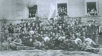 Members of the first Cossack congress. Chyhyryn October 1917.jpg